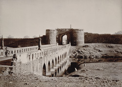 Old Entrance Bridge, Ajanta